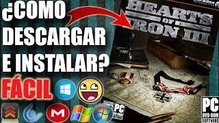 Descargar Hearts of Iron 3 para PC FULL En Español (Paso a Paso)