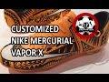 Sharpie Customized Polynesian Football Boots | Mercurial Vapor X