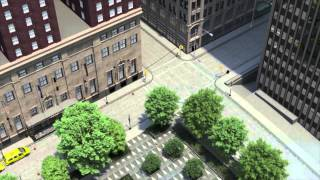 Pittsburgh Personal Injury Lawyer: 3D car accident animation with sound