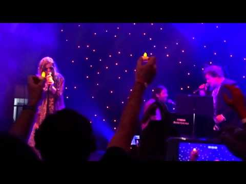 "Amy Poehler and Jack Black Singing ""The Rose"" at Festival Supreme 2015"