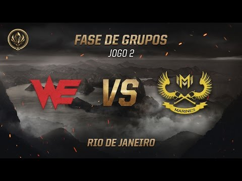 Team WE x Marines (Fase de Grupos - Jogo 3 - Dia 5) - MSI 2017