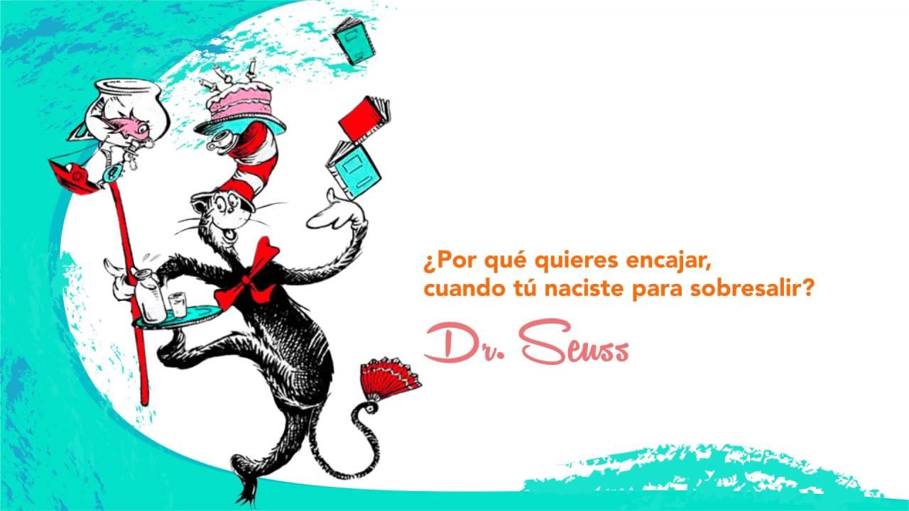 Frase Célebre: Dr Seuss. - YouTube