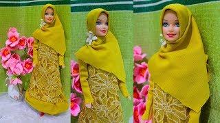 Cara Membuat Dress Barbie