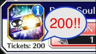 So Many 5*s!!! 200 BBS Tickets [Bleach Brave Souls]