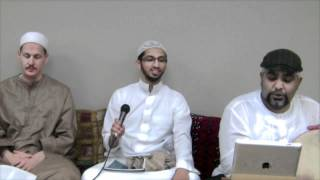 """The Muhammadan Ode"" [Qasida Muhammadiyya] - Nader Khan singing at SeekersHub Toronto"