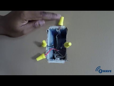 Z Wave 3 Way Smart Dimmer Switch Installation Youtube