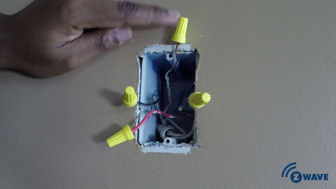 Z Wave 3 Way Smart Dimmer Switch Installation
