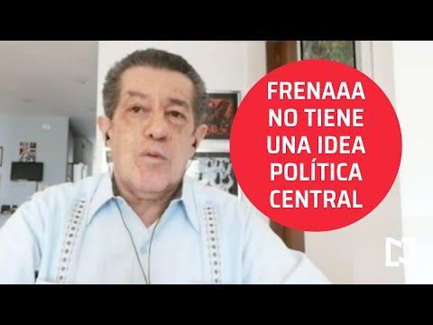 El plantón de FRENAAA en el Zócalo - Agenda Pública