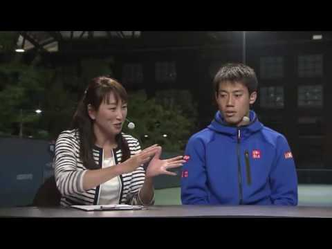 Kei Nishikori 3R studio interview | US Open 2016