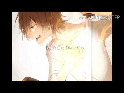 蓮花 『Don't cry』   full【歌詞付き】