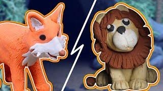 INTELLIGENT JACKAL vs The LION | Bedtime Stories & Moral Stories for Kids - My Little TV