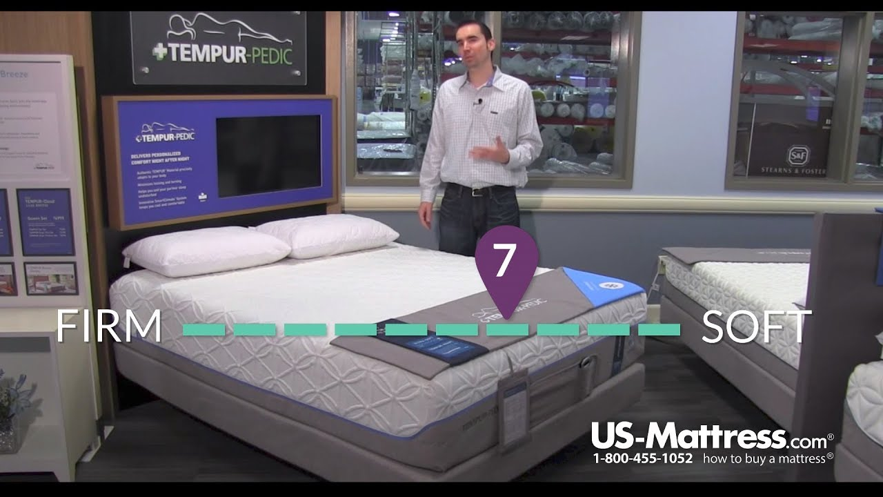 Tempur Cloud Luxe Breeze 20 Mattress Expert Review Youtube