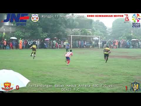 "OPEN TOURNAMENT PORSEKEM CUP VI 2018 ""DENIS F.C 1 vs 0 RBC F.C"""