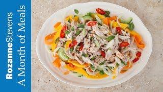 Sweet Chilli Coconut Chicken Salad