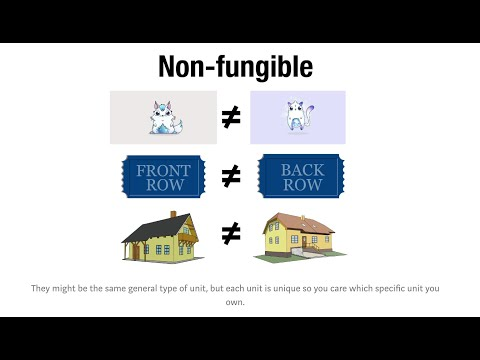 What is a Non Fungible Token NFT vs. a Fungible Token?