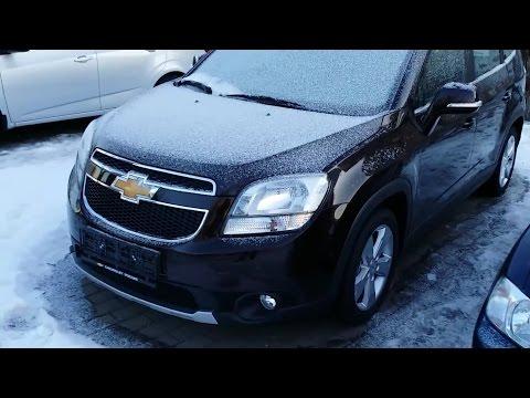Chevrolet Orlando 2015 - новые опции, интерьер