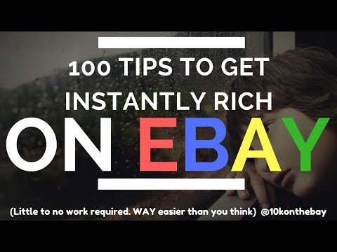 The Best 100 eBay Tips to Get Started To Net $250k (Compiled from 150 Reseller Interviews)
