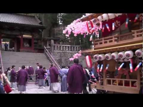 Japanese Spring Festival - Yayoi Matsuri of Nikko
