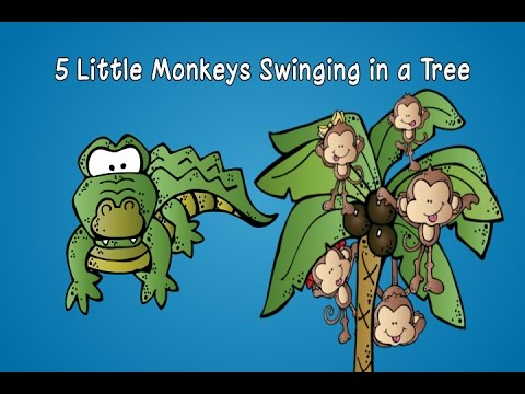 how to draw a monkey swinging on a tree