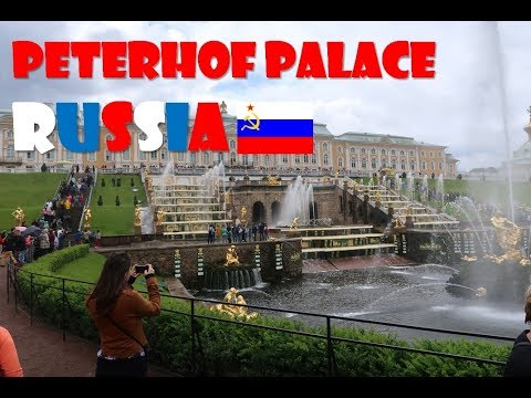 Saint Petersburg – Peterhof Palace, We love Russia! | Travel Vlog #18