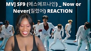 MV] SF9 (에스에프나인) _ Now or Never(질렀어) REACTION #SF9 #에스에프나인 #…