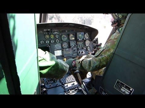 陸自ヘリコプター搭乗 (1) / UH-1 エンジンスタート編 三軒屋駐屯地