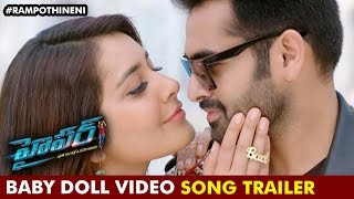 Hyper Telugu Movie Songs | Baby Doll Song Trailer | Ram Pothineni | Raashi Khanna | Ghibran