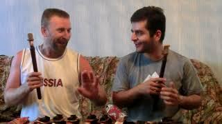 27 07 18 Урок дудука начинающим, от Олега Переверзева,полтора года спустя,  с Нареком Мнацаканяном