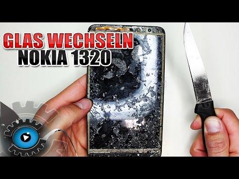 Nokia Lumia 1320 Glas Digitizer Touchscreen Wechseln Tauschen Reparieren [Deutsch/German]