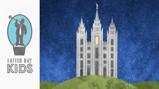 What's Inside the Temple? | Animated Children's Video