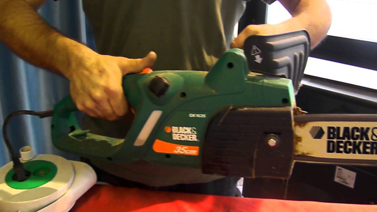 asta motosega black decker 35 cm 1 youtube