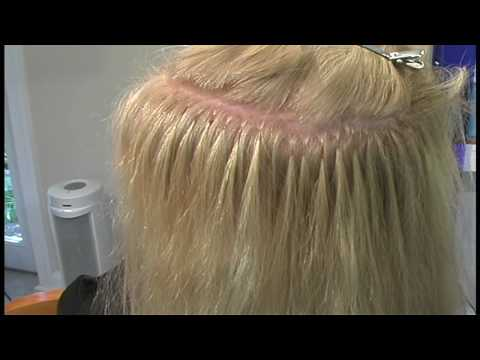 How to Hair Extension Mature client gets hair extensions