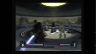 Star Wars: Revenge of the Sith PS2 Walkthrough, The Dark Side of the Force - Mace Windu Boss Fight