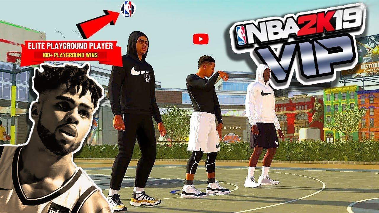 "NBA Star D'Angelo Russell & ShakeDown ""TAKE OVER"" The Park - NBA 2K19"