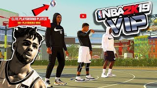 "NBA Star D'Angelo Russell & ShakeDown ""TAKE OVER"" The Park - NBA 2K19"