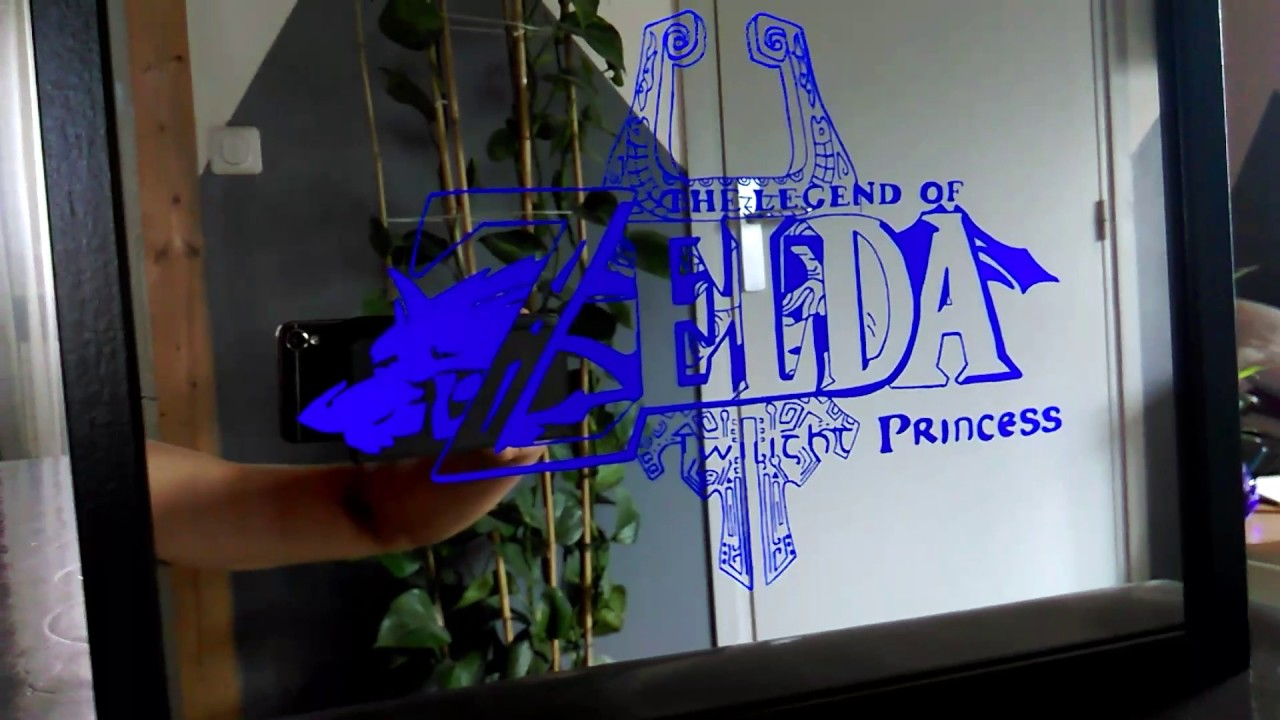 Crea gravure miroir youtube for Miroir youtube