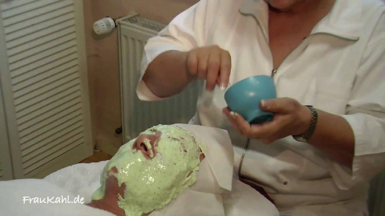 algenmaske gesichtsmaske f r straffe sch ne haut gegen pickel frau kahl folge 17 youtube. Black Bedroom Furniture Sets. Home Design Ideas