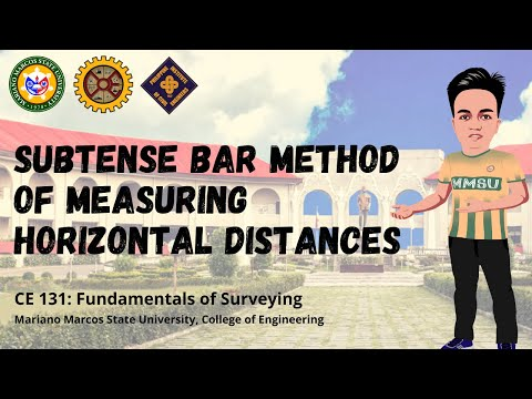 Subtense Bar Method | Tachymetry Methods of Horizontal Distance Measurement | Surveying