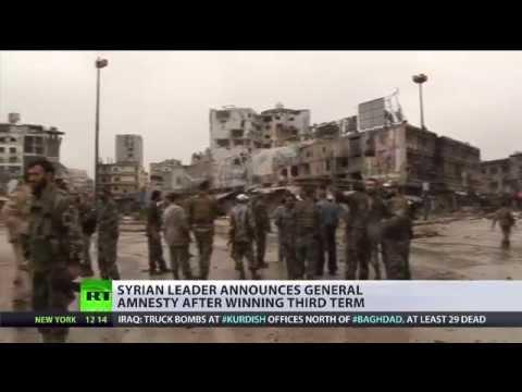 Assad Amnesty: Syrian president upholds promise after winning third term