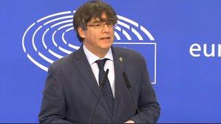Puigdemont pide a la Eurocámara no aceptar la