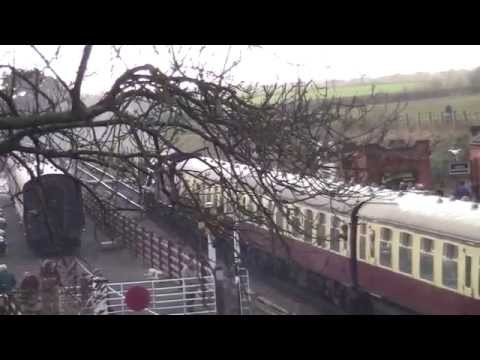 Great Central Railway - Winter Steam Gala 2014 - Quorn and Woodhouse Station