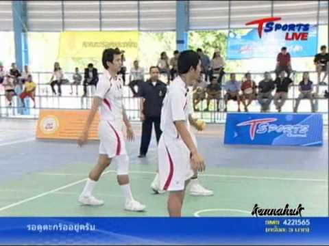 2011 Sepak Takraw Thailand League '' Bangkok Vs Karasin 1 of 10