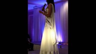 Monica Gill Miss India Worldwide 2014 in Boston
