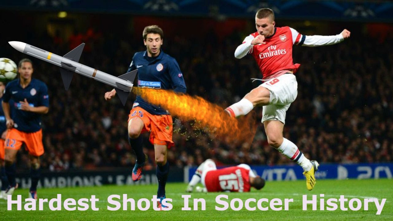 The strongest shots in football 88