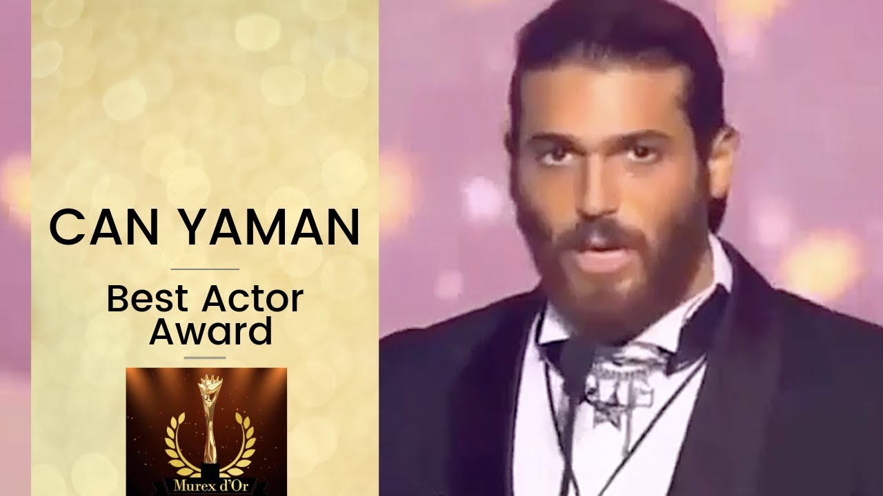 Can Yaman Awarded Murex D'Or Best Actor