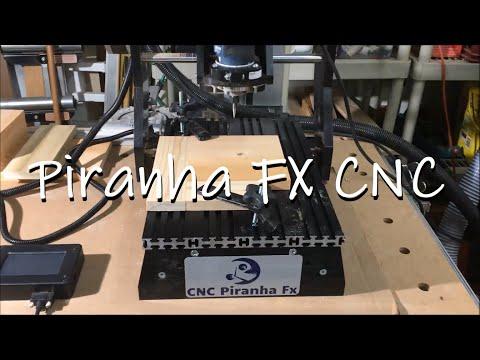 Piranha CNC machine intro