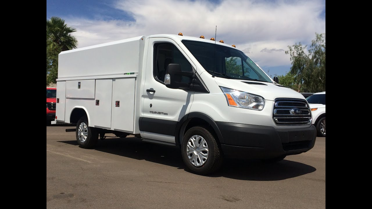 2015 Ford Transit T250 W Reading Aluminum Service Body