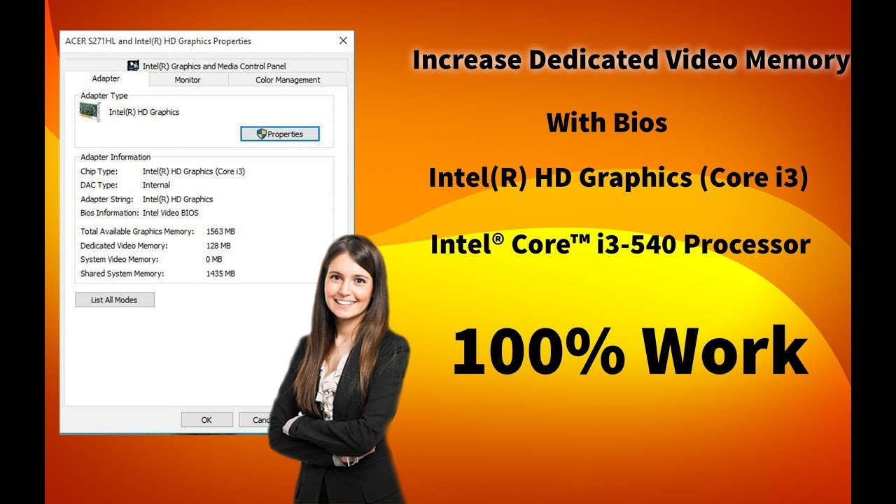 How to Increase Dedicated Video Memory in Intel HD Graphics