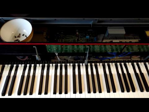 Yamaha Clavinova CLP-860 Takedown and Repair