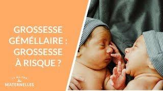 Grossesse gémellaire : grossesse à risque ?  - La Maison des maternelles #LMDM